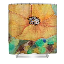 Bees Delight Shower Curtain