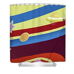 Shower Curtain featuring the photograph Beetle 3 - Door by Nikolyn McDonald