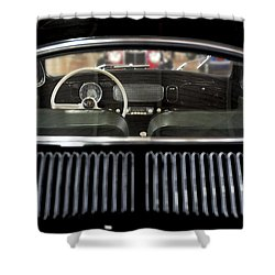 Beetle Interior  Shower Curtain