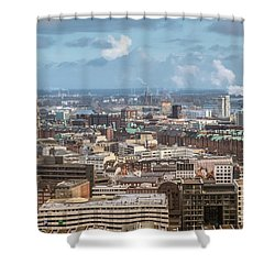 Befor A Snow Storm Hamburg Shower Curtain