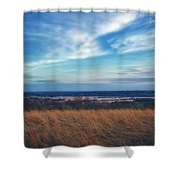 Shower Curtain featuring the photograph Before Sunset At Retzer Nature Center - Waukesha by Jennifer Rondinelli Reilly - Fine Art Photography