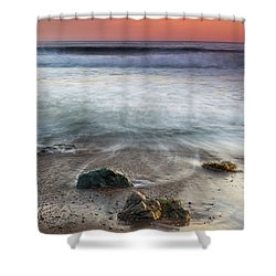 Before Sunset At Shell Beach Shower Curtain