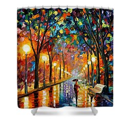 Before The Celebration Shower Curtain by Leonid Afremov