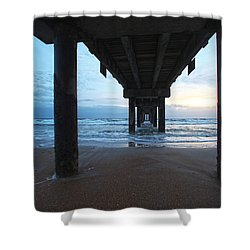 Before The Dawn Shower Curtain