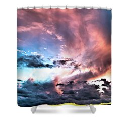 Before The Storm Avila Bay Shower Curtain
