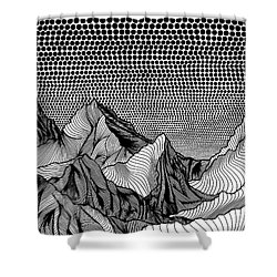 Before The Storm Shower Curtain by Christa Rijneveld