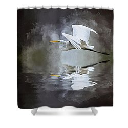 Before The Storm Shower Curtain by Cyndy Doty