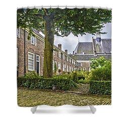 Begijnhof In Breda Shower Curtain