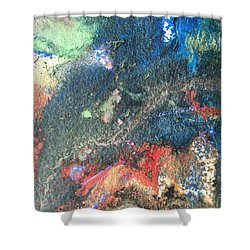 Beginnings - Geology Series Shower Curtain