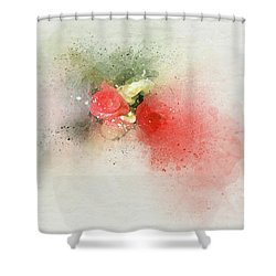 Begonia 3s Shower Curtain