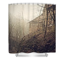 Behind Ancient Walls Shower Curtain