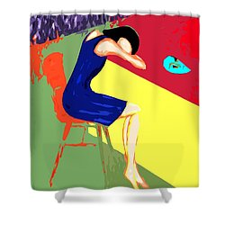 Behind Closed Doors Shower Curtain by Patrick J Murphy