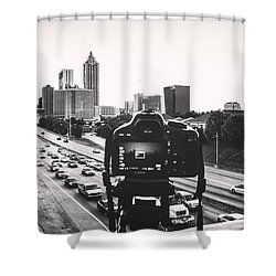 Behind The Lens Shower Curtain