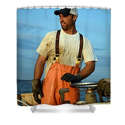 Behold The Waterman Shower Curtain