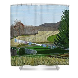 Beiler's View Of Egg Hill Shower Curtain