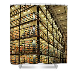 Beinecke Library At Yale University Shower Curtain