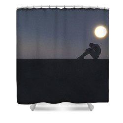 Being A Good Man... Shower Curtain