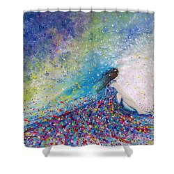 Being A Woman - #5 In A Daydream Shower Curtain by Kume Bryant