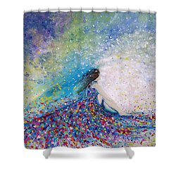 Being A Woman - #5 In A Daydream Shower Curtain
