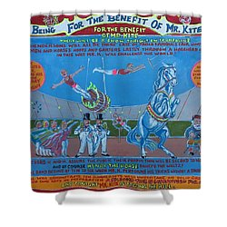 Being For The Benefit Of Mr. Kite Shower Curtain