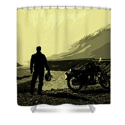 Being In The Movie II Shower Curtain