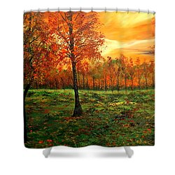 Being Thankful Shower Curtain