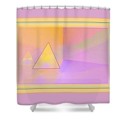 Beings Of Light Portal Shower Curtain