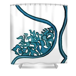 Beit Nest Shower Curtain