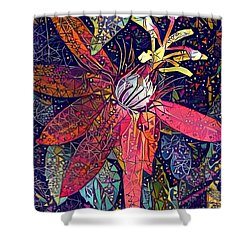 Bejeweled Passion Shower Curtain by Geri Glavis