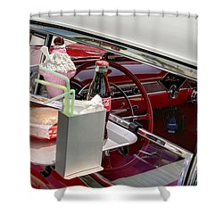 Bel Air 1956. Miami Shower Curtain