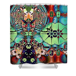 Bel Getty Shower Curtain by Jim Pavelle