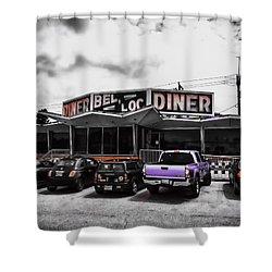 Bel-loc Diner Shower Curtain