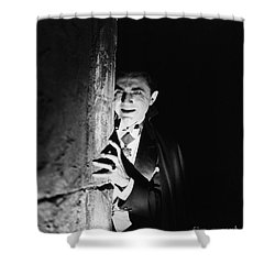 Bela Lugosi Dracula Shower Curtain