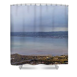Belfast Lough  Shower Curtain