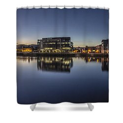 Belfast Near The Docks Shower Curtain