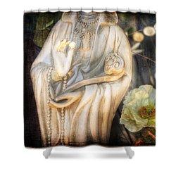 Belfast Pearl Shower Curtain by Craig J Satterlee