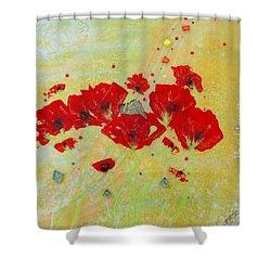 Believe By Mimi Stirn Shower Curtain