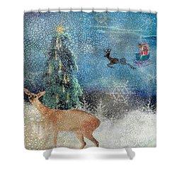 Believe Shower Curtain by Diana Boyd