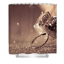 Shower Curtain featuring the photograph Believe In The Magic by Yvette Van Teeffelen