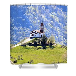 Shower Curtain featuring the photograph Believe by Milena Ilieva