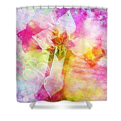 Believe O2 Shower Curtain by Robert ONeil