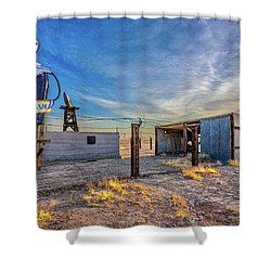 Believe Shower Curtain by Peter Tellone