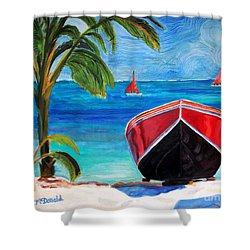Belizean Dream Shower Curtain
