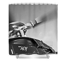 Bell 407 Shower Curtain by Patrick M Lynch