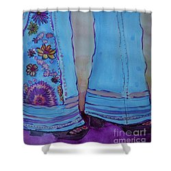 Bell Bottoms Shower Curtain