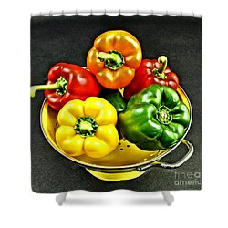Bell Peppers 2 Shower Curtain