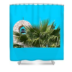 Shower Curtain featuring the photograph Bell by Ray Shrewsberry
