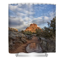 Bell Rock Beckons Shower Curtain