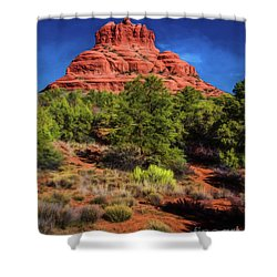 Bell Rock Dream Shower Curtain
