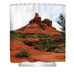 Bell Rock Shower Curtain by Kristin Elmquist
